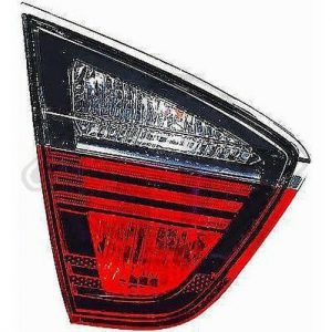 Back Rear Tail Light inner left darkline blackline For BMW 3 Series E90 Saloon