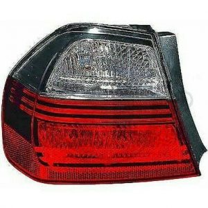 Back Rear Tail Light Left Smoke darkline blackline For BMW 3 Series E90 Saloon