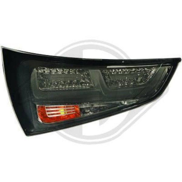 Back Rear Tail Lights Pair Set LED Smoke For Audi A1 10-14