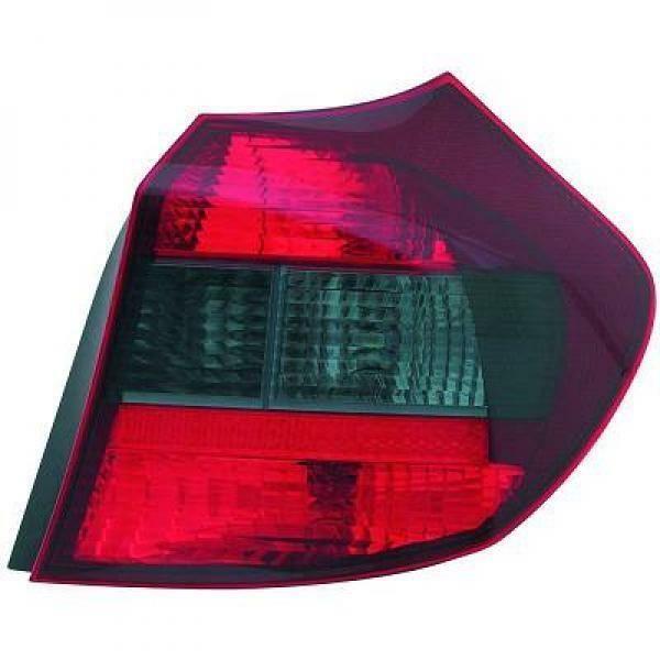 Back Rear Tail Light Left Red Black For BMW 1 Series E81 E87 04-07