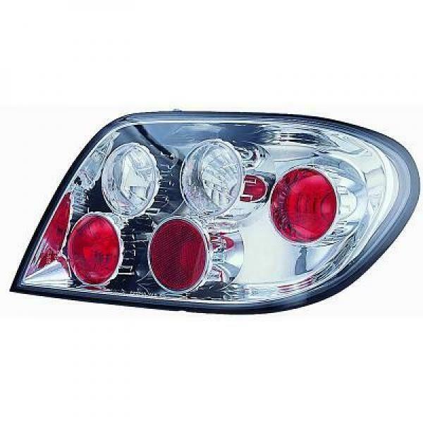 Back Rear Tail Lights Pair Set Clear For Citroen Xsara Saloon Break 00-04