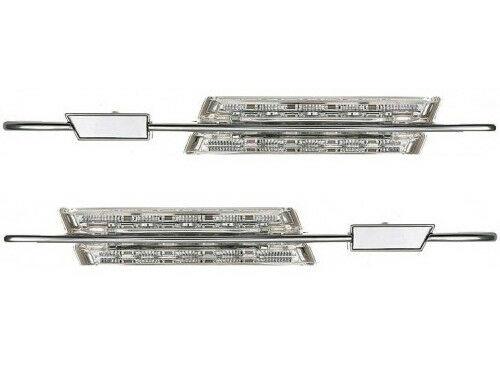 Deltalip LED Side Marker Lights Clear For BMW E46 E90 E91 E87 E81 E60 E61