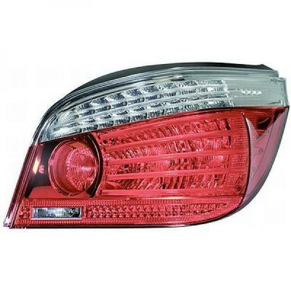 Back Rear Tail Light Left side Clear Red For BMW 5 Series E60 07-10