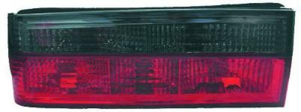 Back Rear Tail Lights Pair Set Clear Red Grey For BMW 3 Series E30 82-87