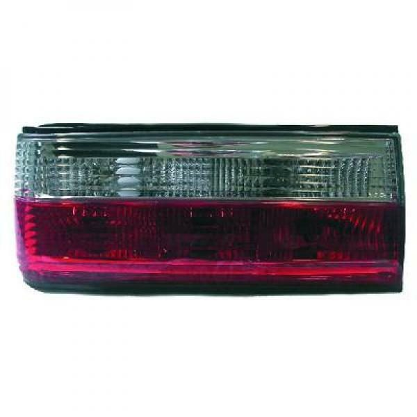 Back Rear Tail Lights Pair Set Clear Red White For BMW 3 Series E30 82-94