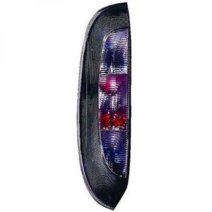 Back Rear Tail Left Side Light Black For Vauxhall Corsa C 00-06