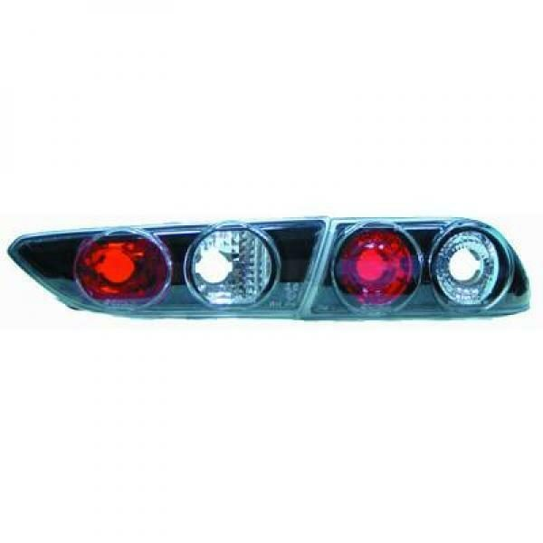 Back Rear Tail Lights Pair Set Clear Black For Alfa Romeo 156 97-03
