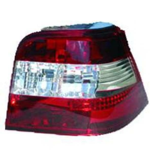 Back Rear Tail Lights Pair Set Clear Red White For VW Golf IV 3 5 Door 97-03