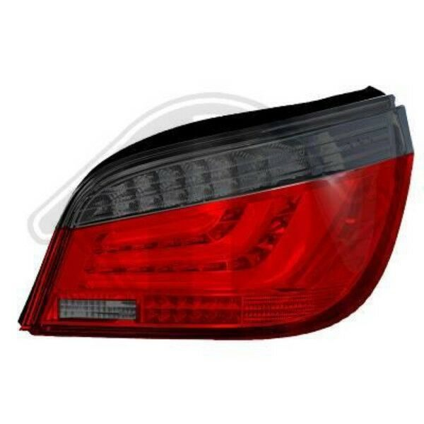 Back Rear Tail Lights Pair Set Clear Red Smoke For BMW 5 Series E60 07-10