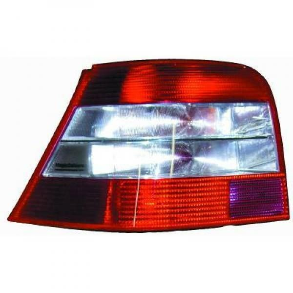 Back Rear Tail Lights Pair Set Red White Brillant For VW Golf IV 97-03