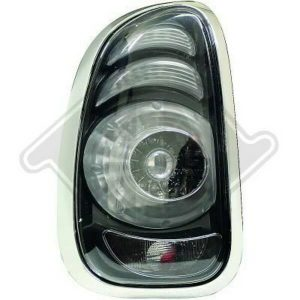 Back Rear Tail Lights Pair Set LED Clear Smoke For Mini R60 12-On