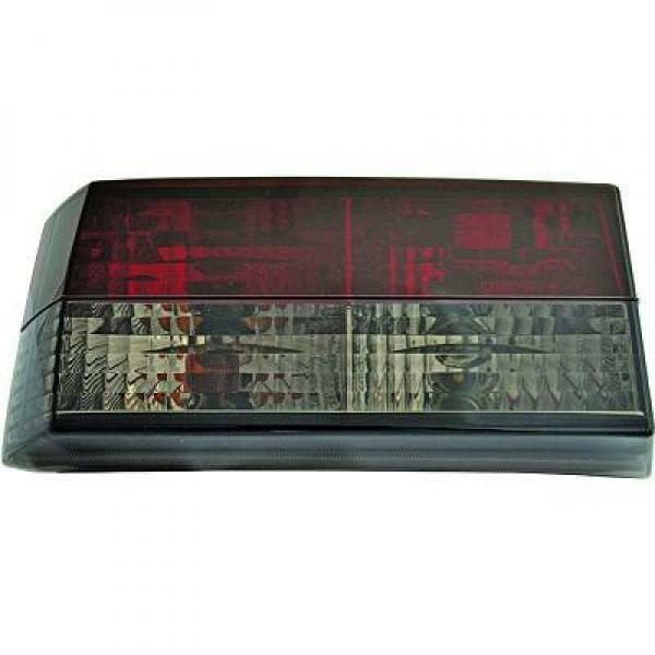 Back Rear Tail Lights Pair Set Crystal Red Black For VW Golf I 17 155 74-93