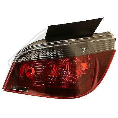 Back Rear Tail Lights Pair Smoke For BMW 5 Series E60 03-07