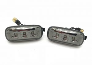 For Audi A4 B7 04-08 smoked LED side repeaters blinkers pair