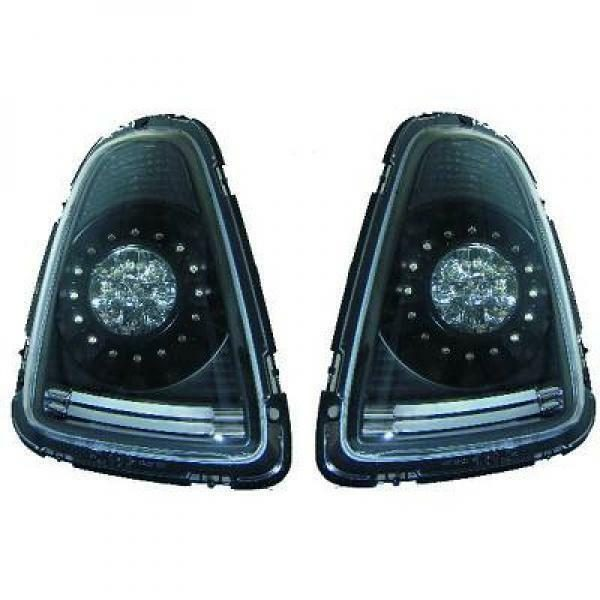Back Rear Tail Lights Pair Set Clear Smoke For Mini One Cooper Clubman 06-10