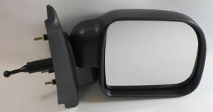 For Renault Kangoo Van 1998-2003 Cable Wing Door Mirror Black Cover Right OS