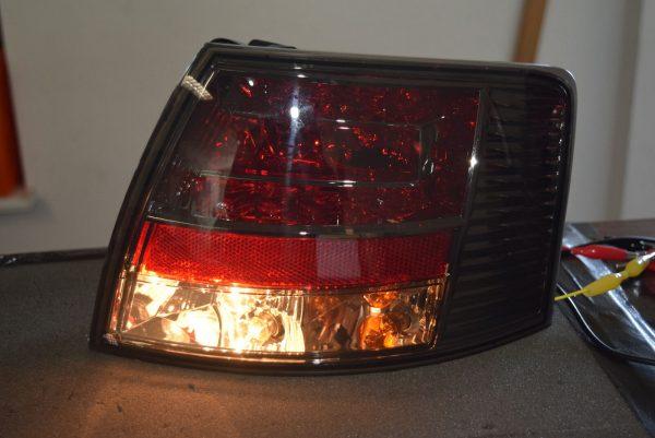 Back Rear Tail Lights Lamps LED Smoke For Audi A4 B7 Avant 11/04-03/08