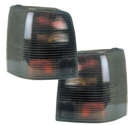 Back Rear Tail Lights Lamps Smoke Pair For VW Passat 3B Variant 11/96-9/00 - On