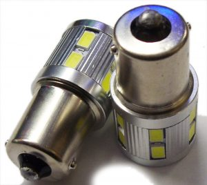 1156 382 Ba15S 17 Smd High Power Bulb Stop Tail Fog Reverse Interior 10-30V
