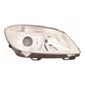 Projector headlights headlamps Fits Skoda Fabia & Roomster 10-15