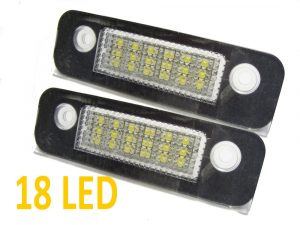 18 Smd LED Rear Number Licence Plate Units For Ford Mondeo Mk2 Fiesta Fusion