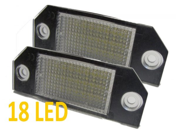 LED Rear Number Licence Plate Units For Land Rover Discovery 3 4 2004-16