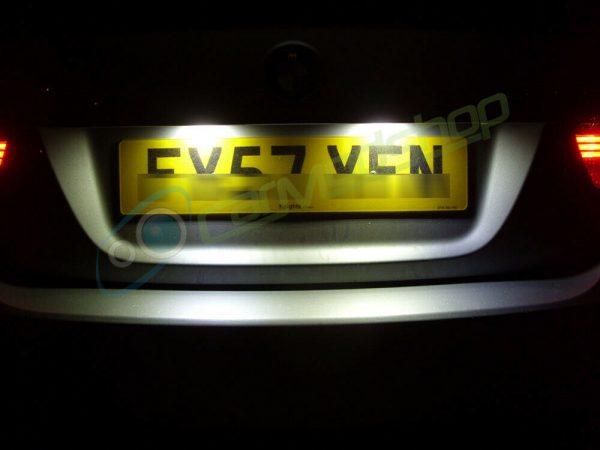 VIGORFLYRUN PARTS LTD 2pcs Car LED License Number Plate Light For 86 GT86 FT86 BRZ Scion FR-S, 18 LED Canbus 12V Error Free White Lamp