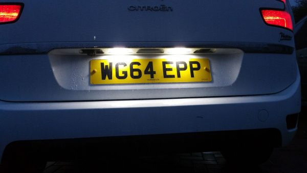 18 Smd LED Rear Number Licence Plate Units For Peugeot 106 Facelift 97-04 1007