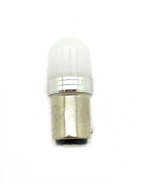 12V 24V BAZ15D 566 P21/4W BAYONET STOP / TAIL RED LED BULB