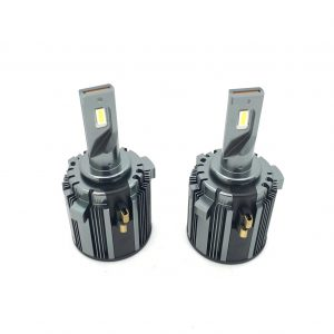 Pair H7 LED Headlight bulbs with integrated bulb holder for VW