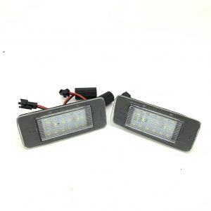 LED Number License plate units white for Vauxhall Astra J Sports Tourer