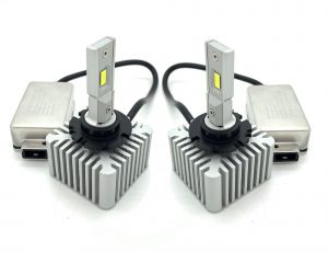Pair D1S/D3S LED replacement bulbs for xenon HID gas discharge Plug n Play