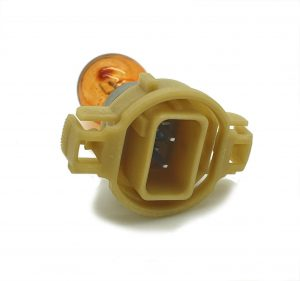 PSY24W replacement amber indicator bulb 12180SV